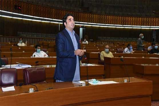 Bilawal Bhutto labels budget 2021-22 as economic disaster