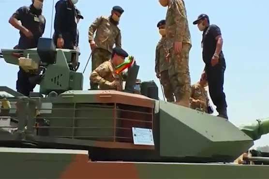 Pakistan Army successfully inducts first batch of VT-4 tanks