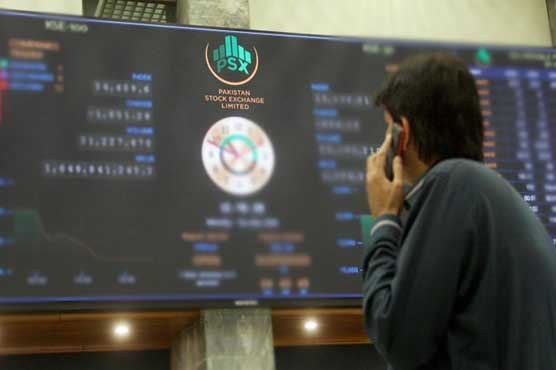 PSX witnesses volatile session ahead of Senate elections