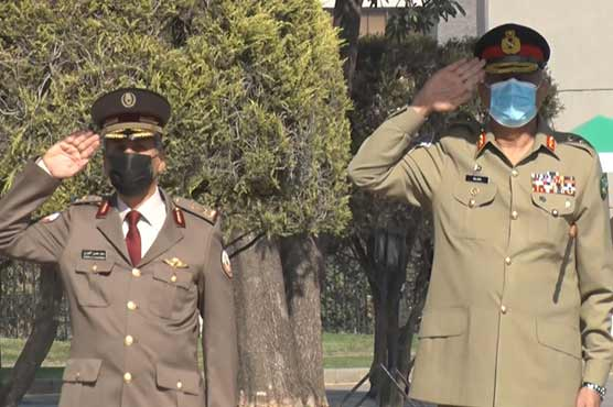 Qatari commander lauds efforts of Pak Army for regional peace