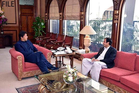 PM thanks Pervaiz Elahi for getting all Senate candidates elected unopposed in Punjab
