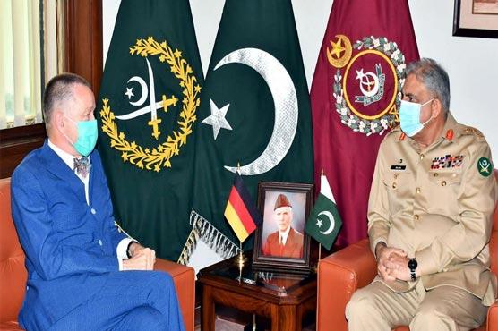 COAS, German Envoy discuss matters of mutual interest