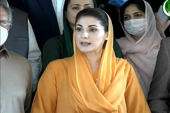 Imran Khan seeks vote of confidence from those he called sell-outs: Maryam Nawaz
