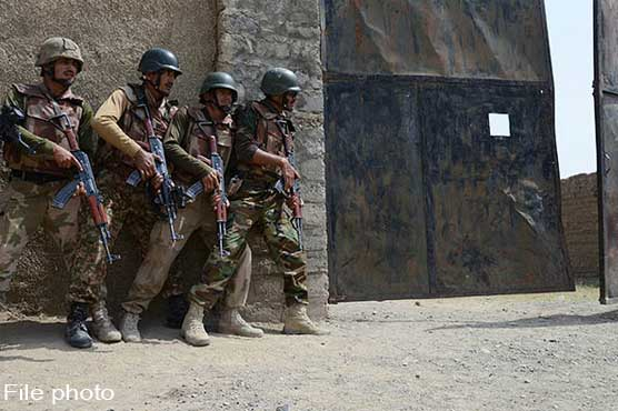 Eight terrorists including three commanders killed during IBOs in North Waziristan: ISPR