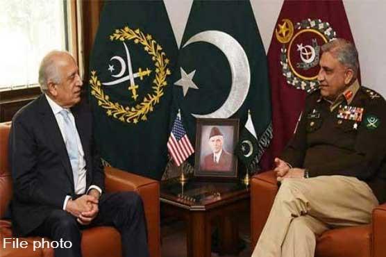 Zalmay Khalilzad meets COAS General Qamar Javed Bajwa