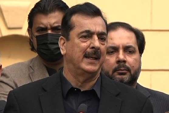 Failure is not an option, says Yousuf Raza Gilani