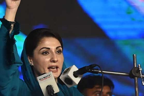 Maryam dares govt to hold Senate Chairman election by show of hands