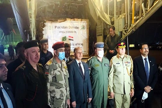 Pakistan to send three planes-load of COVID-19 relief goods to Iraq