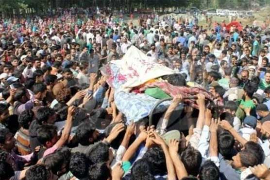 Indian troops martyr one more youth in Shopian