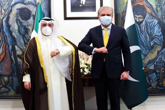 Pakistan, Kuwait FMs discuss bilateral ties