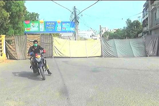 Karachi: Micro smart lockdown imposed in areas of Kemari District