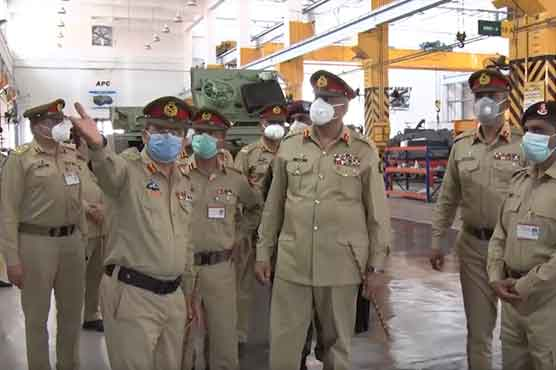 COAS visits logistics workshops in Rawalpindi, inspects maintenance of special equipment