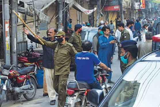 First case registered in Lahore over violation of coronavirus SOPs