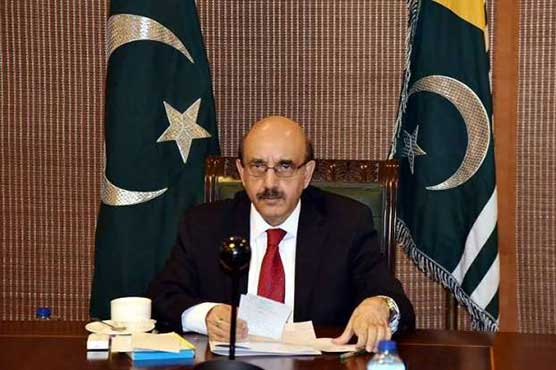 AJK President urges UNSC to implement its resolutions on Kashmir