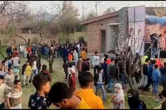 Hundreds chant anti-India slogans during concert in IIOJ&K