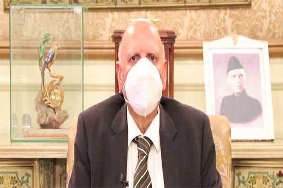 Governor Punjab urges people to take coronavirus third wave seriously