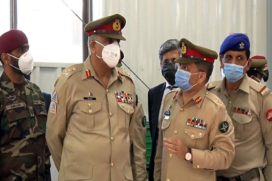 COAS visits Logistic Installation in Rawalpindi