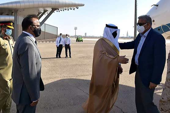 COAS Gen Bajwa arrives in Saudi Arabia on official visit