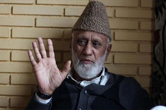 Ashraf Sehrai laid to rest amid tight military siege in IIOJK