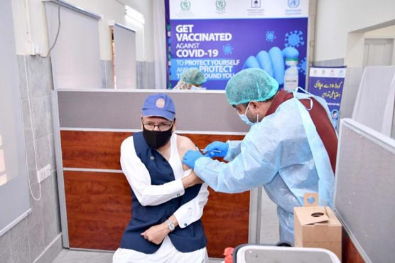 President urges people to get COVID-19 jabs for safety against virus