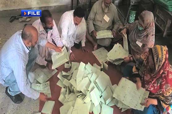 Vote recount in NA-249 by-polls continues on second day despite objections