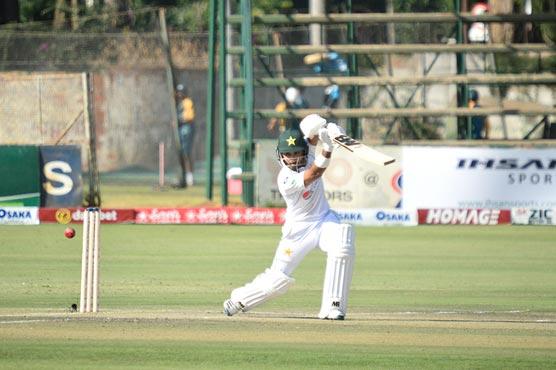 Harare: Pakistan bat in second Zimbabwe Test