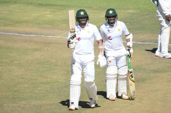 Abid and Azhar centuries put Pakistan in strong position
