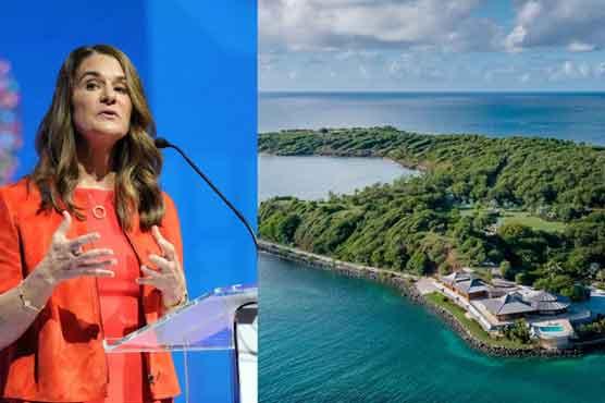 بل گیٹس کی سابقہ بیوی ملینڈا نے جزیرہ دو کروڑ روپے یومیہ کرائے پر لے لیا