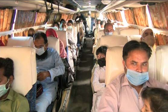 Passengers' return to hometowns for Eid continues as Punjab delays transport ban