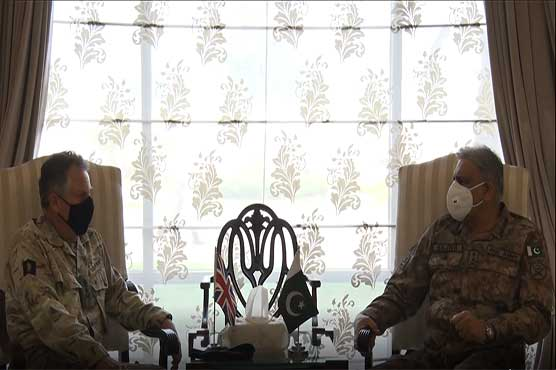 COAS, UK Chief of Defence Staff discuss Afghan peace process
