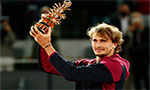 Zverev clinches second Madrid Open title for Roland Garros boost