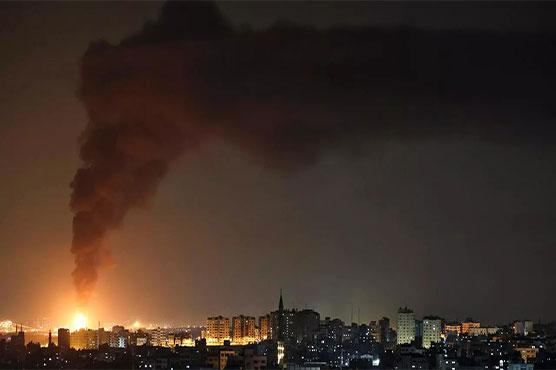 Hamas rockets target Tel Aviv after Israeli strikes flatten Gaza tower