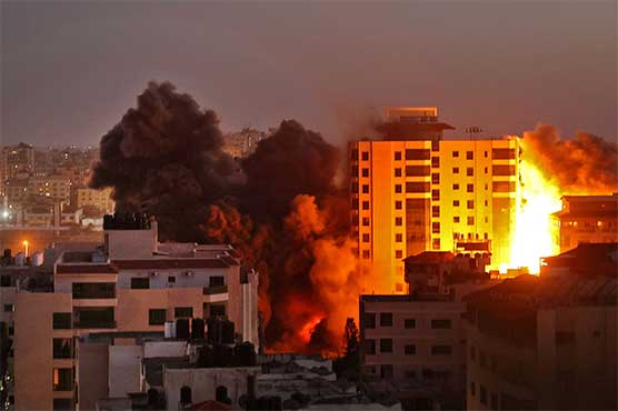 83 Palestinians martyred as Israeli forces continue intermittent air strikes
