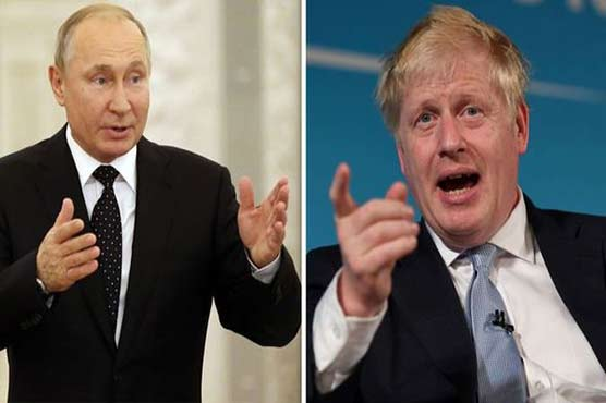 Russian president, UK PM call for de-escalation between Israel, Palestine