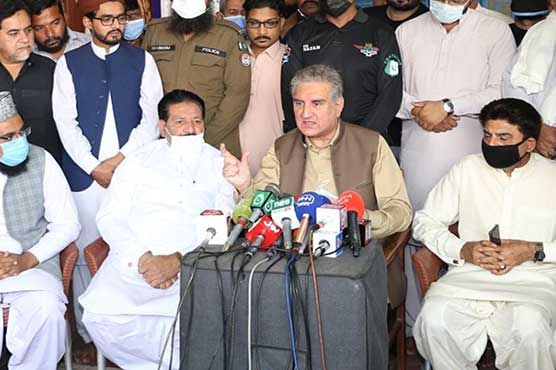 FM Qureshi prays for Pakistan from India-like Covid-19 situation