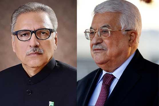 President Dr Alvi assures to raise voice for Palestinians