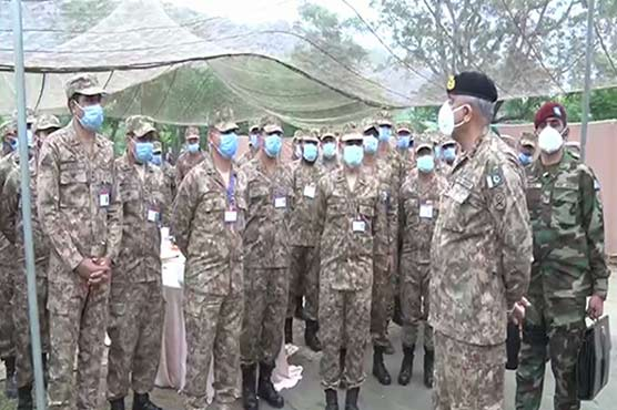 COAS celebrates Eid-ul-Fitr with front-line troops along LoC