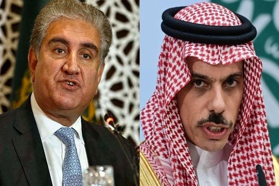 Pak, Saudi FMs discuss Israeli attacks, grave HR violations in Gaza
