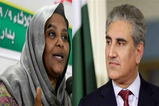 Pakistan, Sudan agree to make efforts for peaceful resolution of Palestine issue