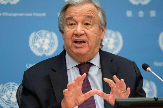 UN chief 'dismayed', 'disturbed' by Israel strikes on Gaza