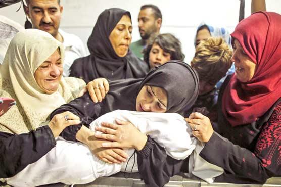 58 children among 197 martyred in Israeli attacks on Gaza
