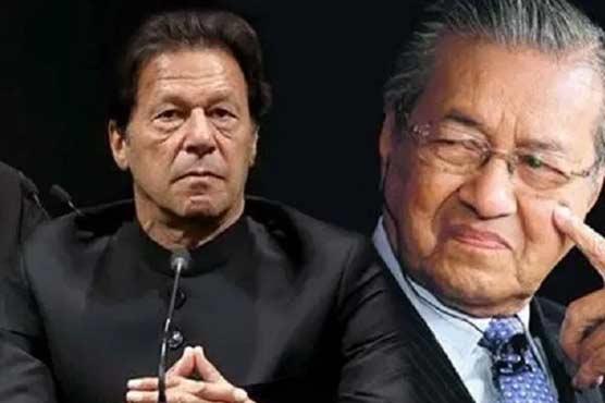 PM Imran, Mahathir urge world role to halt Israel's aggression