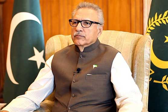 President asks Pak Red Crescent to offer humanitarian aid to Palestinians
