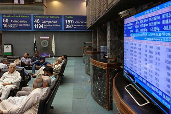 PSX gains 621.64 points to close at 45,796.31 points