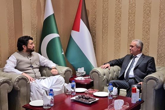 Shehryar reiterates Pakistan's commitment to stand with Palestinian people