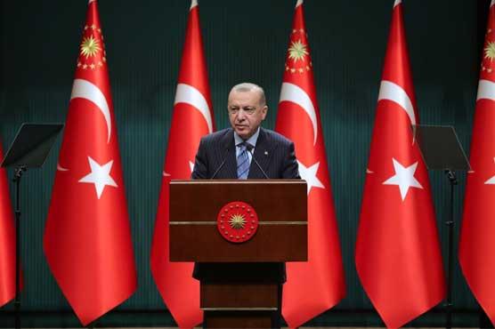 Erdogan says Biden has 'bloody hands' for backing Israel