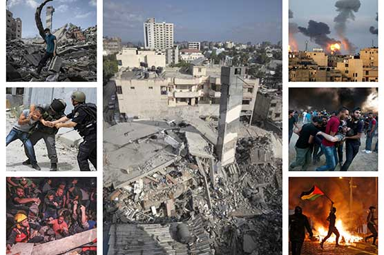 220 Palestinians martyred in Israeli barbarism amid no sign of abating