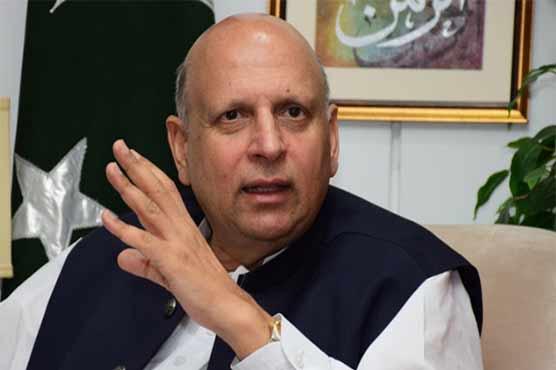 Governor Punjab announces Rs100 million aid for Palestinians