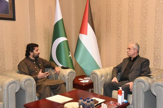 NA Deputy Speaker expresses solidarity with Palestinian people, condemns Israeli aggression