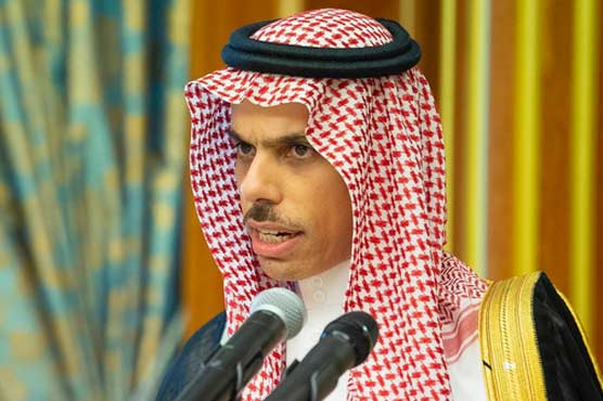 Gaza conflict pushing region in wrong direction: Saudi FM